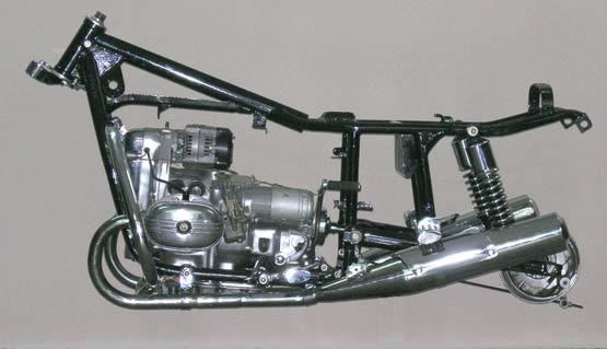Задняя часть мотоцикла своими руками